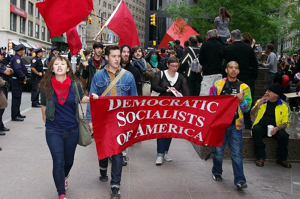 Democratic Socialists Occupy Wall Street 2011 Shankbone