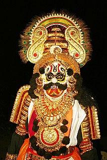 Rakshasa Humanoid beings from Hindu mythology