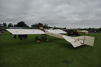 Deperdussin 1910 monoplane - Deperdussin monoplane belonging to the Shuttleworth Collection.