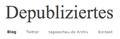 Depub.org-Kopfzeile Depubliziertes.png