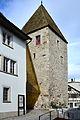 Der 'Breny-Turm' des Stadtmuseums am 'Herrenberg' in Rapperswil 2012-10-16 15-16-12.JPG