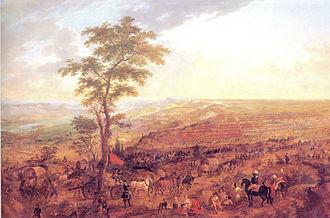 Battle of Almenar - Image: Derrota i humillacion borbonica en almenar 27 7 1710 cataluña