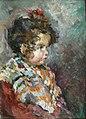 Desboutin M. attr. - Oil on canvas - Fillette boudeuse - ~33x24cm.jpg