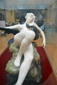 Desiré Maurice Ferrary (1852-1904) - Leda and the Swan (1898) front, Lady Lever Art Gallery, Port Sunlight, Cheshire, June 2013 (9105035336).png