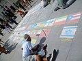 Dessin de rue sur trottoir Londres P1030478.jpg