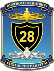 Destroyer Squadron 28 (U.S. Navy) insignia, 2019.png