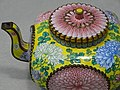 Detail of Copper Teapot with Chrysanthemum Decoration - Qing Dynasty (17th-18th Cent.) - National Palace Museum - Taipei - Taiwan (32923932917).jpg