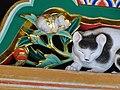 Detail of Sleeping Cat Carving - Toshogu Shrine - Nikko - Japan (48042213661).jpg