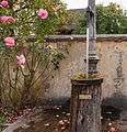 Detail waterelement bij Gasthof zum Krebs. Locatie Kinding Opper-Beieren Duitsland 01.jpg