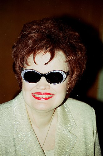 Diane Schuur - Schuur at Larry King's charity event in 2000