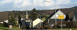 Dichetlbach im Hunsrück, Ortsansicht von Westen