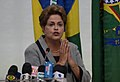 Dilma Rousseff comenta os protestos de 15 de março de 2015.jpg