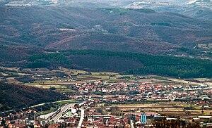 Dimitrovgrad, Serbia - Panorama of Dimitrovgrad