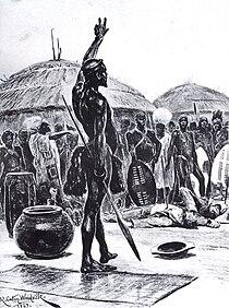 Dingane - 'Bulalani abathakathi' - 1897.jpg