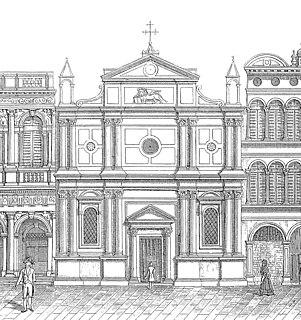 San Geminiano, Venice Church in Veneto, Italy