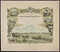 Diploma awarded by the People's Agricultural Society of West Jersey - P.S. Duval & Son's Lith. Pa. ; J. Queen del. LCCN2013651043.jpg