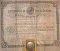 Diploma da Escola Polytechnica da Universidade do Rio de Janeiro em 1928.jpg