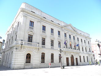 Province of Burgos - Provincial Palace (s. XIX) in Burgos, seat of the Diputación de Burgos, the province governing body