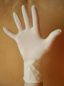 fetish Latex exam gloves