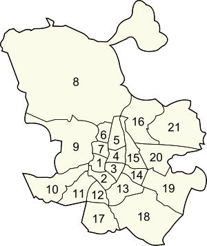 Districts of Madrid.svg