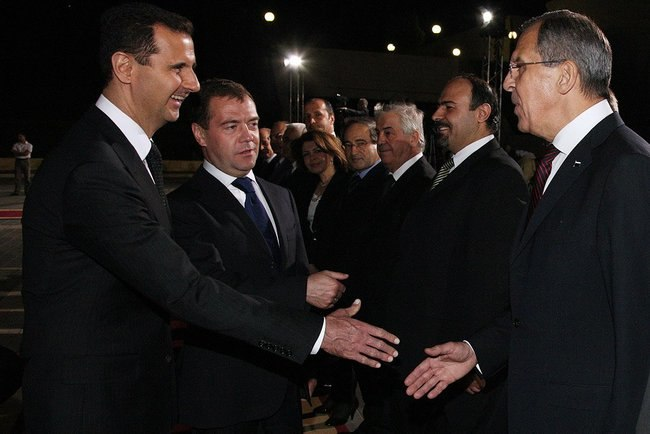 Dmitry Medvedev in Syria 10 May 2010-1.jpeg