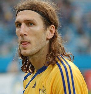 Dmytro Chygrynskiy - Chygrynskiy with Ukraine in 2009