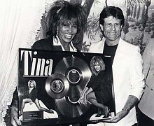Don Grierson with Tina Turner.