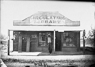 Circulating library for-profit library that lends books to the public for a fee