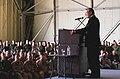 Donald Rumsfeld addresses U.S., Turkish, and British military personnel at Incirlik Air Base,.jpg