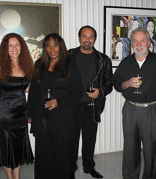 File:Donna Summer Bruce Sudano Giorgio Moroder Beverly Hills.jpg