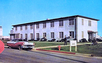 1607th Air Transport Wing - Headquarters 1607th Air Transport Wing, about 1960