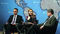 Dr Marco Roscini, Deborah Haynes, Professor Christopher Coker (left to right) (8638198770).jpg