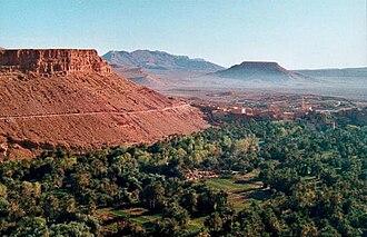 Zagora, Morocco - Image: Draa near Zagora