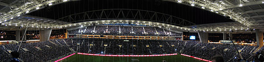 Dragão Stadium Opening Night.