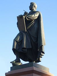 Monument to Schinkel (Source: Wikimedia)