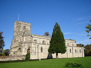 Dunstable Priory Church in Dunstable, United Kingdom