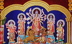 Durga, Burdwan, 2011.JPG