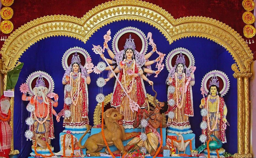 Durga, Burdwan, 2011