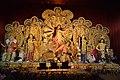Durga With Her Family - Ekdalia Evergreen - Ekdalia Road - Kolkata 2017-09-27 4114.JPG