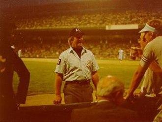 Durwood Merrill - Durwood Merrill at Comiskey Park on May 21, 1980