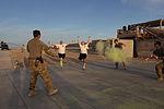 Dustoff Splash Dash 5K brings color to runners in Helmand province 140421-M-JD595-487.jpg