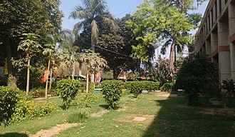 Dyal Singh College, Delhi - College Lawns