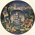 EB1911 Ceramics Plate VI - Urbino. 1525 - Gonzaga Este.jpg