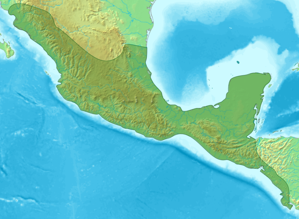 Calakmul is located in Mesoamerica