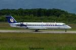 EW-303PJ Bombardier CL-600-2B19 CRJ-200LR CRJ2 - BRU (27058520604).jpg