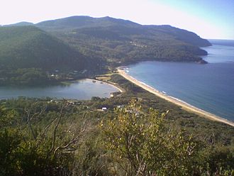 Eaglehawk Neck - Eaglehawk Neck from Martin Cash's lookout.