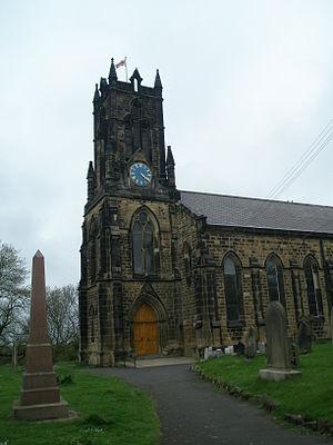 Earsdon - Image: Earsdon Parish Church
