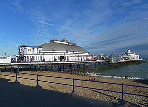 Eugenius Birch - Image: Eastbourne Pier, Grand Parade, Eastbourne (NHLE Code 1353116) (October 2012)