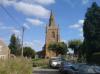 Eaton, Leicestershire - Image: Eaton St Denis 3