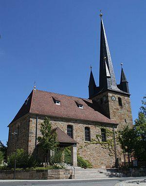 Ebersdorf bei Coburg - Protestant church